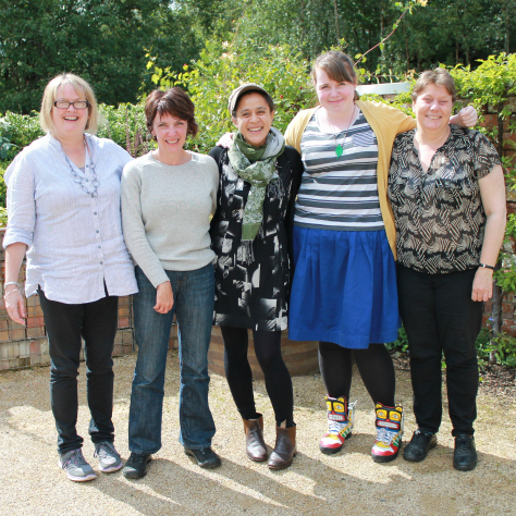 from left to right - Amanda, Jean, Donna, Sarah, Andrea