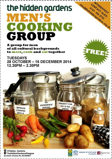 for blog - cookery flyer with outlnie