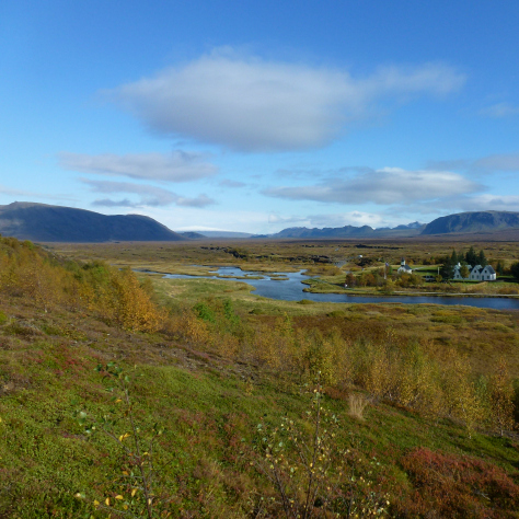 Thingvellir National Park Iceland crop