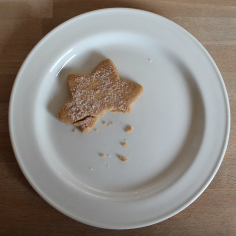 The remains of our AGM Shortbread